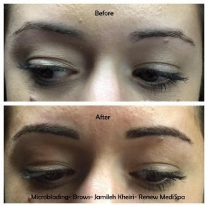 Permanent Make Up Windham - Before & After
