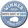 Hippo Best of 2015 winner badge