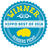 HIPPO Best of 2018 Readers Picks Winner badge